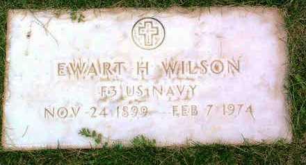 WILSON, EWART HOMER - Yavapai County, Arizona   EWART HOMER WILSON - Arizona Gravestone Photos