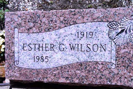 RICHMOND, ESTHER G. - Yavapai County, Arizona   ESTHER G. RICHMOND - Arizona Gravestone Photos