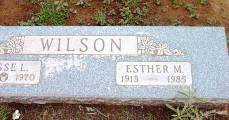 WILSON, ESTHER MAY - Yavapai County, Arizona   ESTHER MAY WILSON - Arizona Gravestone Photos