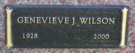 WILSON, GENEVIEVE J. - Yavapai County, Arizona | GENEVIEVE J. WILSON - Arizona Gravestone Photos