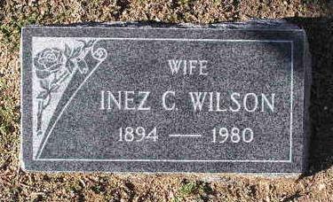 WILSON, INEZ C. - Yavapai County, Arizona | INEZ C. WILSON - Arizona Gravestone Photos