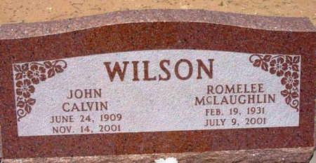 WILSON, JOHN CALVIN - Yavapai County, Arizona | JOHN CALVIN WILSON - Arizona Gravestone Photos
