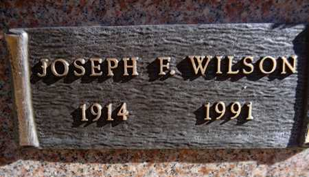 WILSON, JOSEPH FRANKLIN - Yavapai County, Arizona | JOSEPH FRANKLIN WILSON - Arizona Gravestone Photos