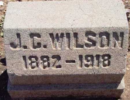 WILSON, JAMES CLAYTON - Yavapai County, Arizona | JAMES CLAYTON WILSON - Arizona Gravestone Photos