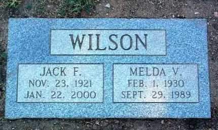 WILSON, MELDA V. - Yavapai County, Arizona | MELDA V. WILSON - Arizona Gravestone Photos