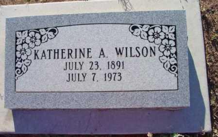 WILSON, KATHERINE A. - Yavapai County, Arizona | KATHERINE A. WILSON - Arizona Gravestone Photos