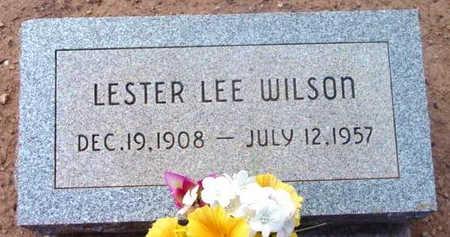 WILSON, LESTER LEE - Yavapai County, Arizona   LESTER LEE WILSON - Arizona Gravestone Photos