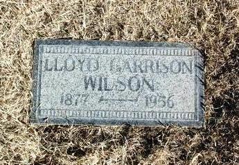 WILSON, LLOYD GARRISON - Yavapai County, Arizona   LLOYD GARRISON WILSON - Arizona Gravestone Photos