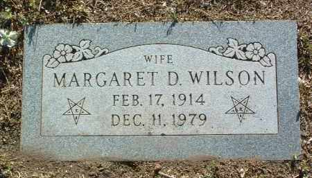 WILSON, MARGARET D. - Yavapai County, Arizona   MARGARET D. WILSON - Arizona Gravestone Photos