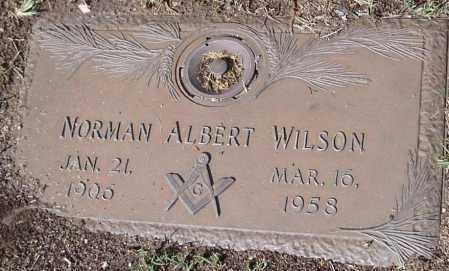 WILSON, NORMAN ALBERT - Yavapai County, Arizona | NORMAN ALBERT WILSON - Arizona Gravestone Photos