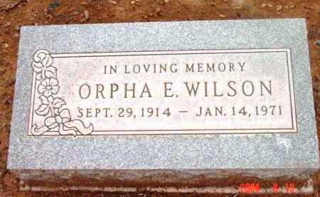 WILSON, ORPHA F. - Yavapai County, Arizona | ORPHA F. WILSON - Arizona Gravestone Photos