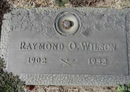 WILSON, RAYMOND OTTO - Yavapai County, Arizona | RAYMOND OTTO WILSON - Arizona Gravestone Photos