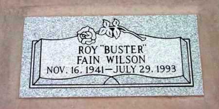WILSON, ROY FAIN  (BUSTER) - Yavapai County, Arizona | ROY FAIN  (BUSTER) WILSON - Arizona Gravestone Photos