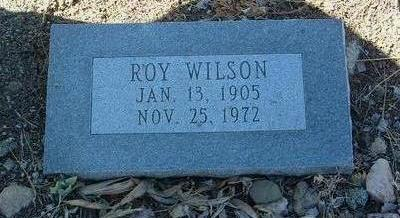 WILSON, ROY - Yavapai County, Arizona | ROY WILSON - Arizona Gravestone Photos