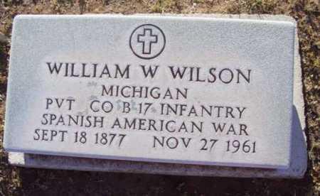 WILSON, WILLIAM WALLACE - Yavapai County, Arizona | WILLIAM WALLACE WILSON - Arizona Gravestone Photos