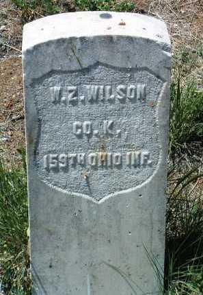 WILSON, WILLIAM ZADOC - Yavapai County, Arizona | WILLIAM ZADOC WILSON - Arizona Gravestone Photos