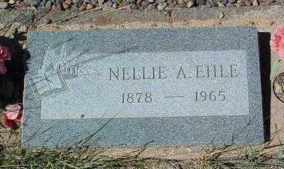 WILTROUT EHLE, NELLIE A. - Yavapai County, Arizona | NELLIE A. WILTROUT EHLE - Arizona Gravestone Photos