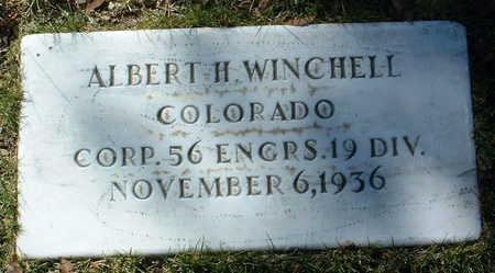 WINCHELL, ALBERT H. - Yavapai County, Arizona | ALBERT H. WINCHELL - Arizona Gravestone Photos
