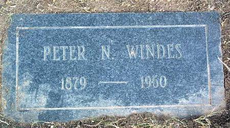 WINDES, PETER NORTHRUP - Yavapai County, Arizona | PETER NORTHRUP WINDES - Arizona Gravestone Photos