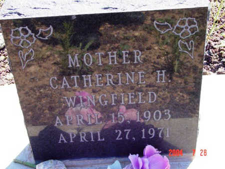 SIMPSON WINGFIELD, C. H. - Yavapai County, Arizona | C. H. SIMPSON WINGFIELD - Arizona Gravestone Photos