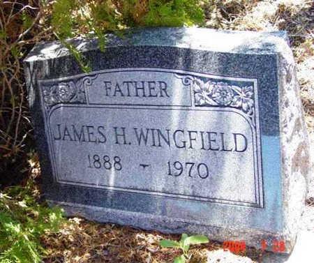 WINGFIELD, JAMES HENRY - Yavapai County, Arizona   JAMES HENRY WINGFIELD - Arizona Gravestone Photos