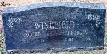 BOYER WINGFIELD, G. - Yavapai County, Arizona   G. BOYER WINGFIELD - Arizona Gravestone Photos