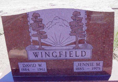MUNDS WINGFIELD, SARAH J. - Yavapai County, Arizona | SARAH J. MUNDS WINGFIELD - Arizona Gravestone Photos
