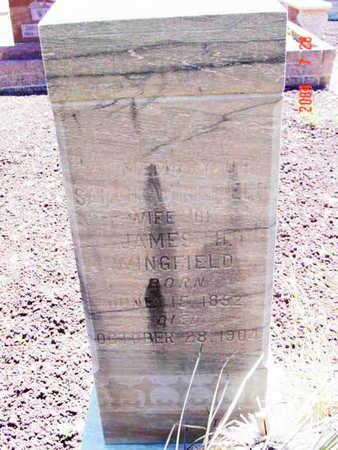 ENGLAND WINGFIELD, S. - Yavapai County, Arizona | S. ENGLAND WINGFIELD - Arizona Gravestone Photos