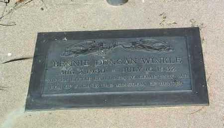 WINKLE, BENJAMIN DUNCAN - Yavapai County, Arizona   BENJAMIN DUNCAN WINKLE - Arizona Gravestone Photos