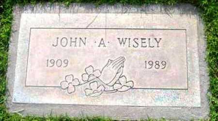 WISELY, JOHN A. - Yavapai County, Arizona | JOHN A. WISELY - Arizona Gravestone Photos