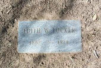 WITT LOCKER, EDITH W. - Yavapai County, Arizona | EDITH W. WITT LOCKER - Arizona Gravestone Photos