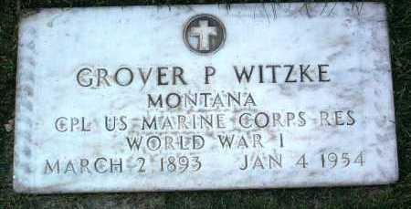 WITZKE, GROVER PRESTON - Yavapai County, Arizona | GROVER PRESTON WITZKE - Arizona Gravestone Photos