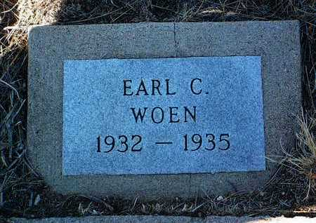 WOEN, EARL C. - Yavapai County, Arizona | EARL C. WOEN - Arizona Gravestone Photos