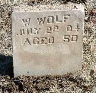WOLF, WILLIAM - Yavapai County, Arizona | WILLIAM WOLF - Arizona Gravestone Photos