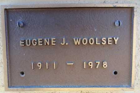 WOOLSEY, EUGENE J. - Yavapai County, Arizona   EUGENE J. WOOLSEY - Arizona Gravestone Photos