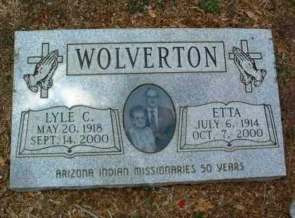 WOLVERTON, ETTA - Yavapai County, Arizona | ETTA WOLVERTON - Arizona Gravestone Photos