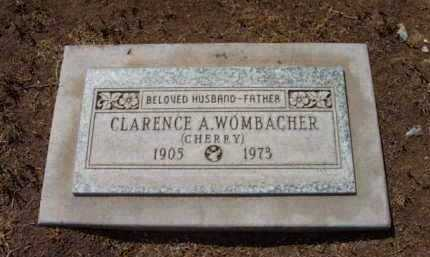 WOMBACHER, CLARENCE A. - Yavapai County, Arizona | CLARENCE A. WOMBACHER - Arizona Gravestone Photos