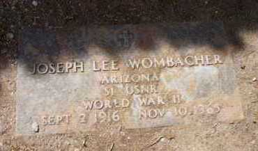 WOMBACHER, JOSEPH LEE - Yavapai County, Arizona | JOSEPH LEE WOMBACHER - Arizona Gravestone Photos