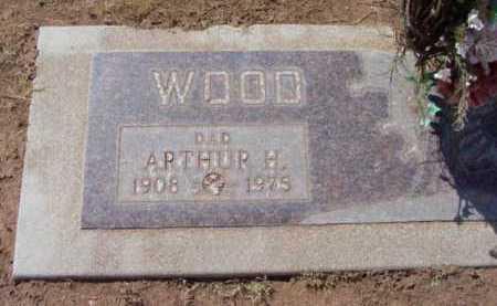 WOOD, ARTHUR H. - Yavapai County, Arizona   ARTHUR H. WOOD - Arizona Gravestone Photos