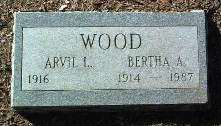 WOOD, ARVIL LEE - Yavapai County, Arizona | ARVIL LEE WOOD - Arizona Gravestone Photos