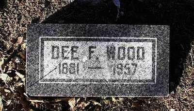 WOOD, DEFORREST - Yavapai County, Arizona | DEFORREST WOOD - Arizona Gravestone Photos
