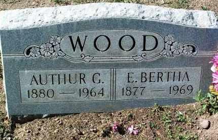 MAHURIN WOOD, EMMA BERTHA - Yavapai County, Arizona | EMMA BERTHA MAHURIN WOOD - Arizona Gravestone Photos