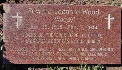 WOOD, EDWARD LEONARD - Yavapai County, Arizona | EDWARD LEONARD WOOD - Arizona Gravestone Photos