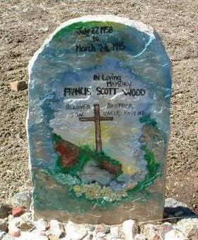 WOOD, FRANCIS SCOTT - Yavapai County, Arizona   FRANCIS SCOTT WOOD - Arizona Gravestone Photos