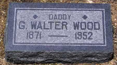 WOOD, GUS WALTER - Yavapai County, Arizona | GUS WALTER WOOD - Arizona Gravestone Photos