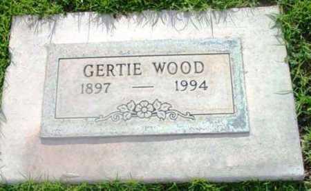 WOOD, GERTIE B. - Yavapai County, Arizona | GERTIE B. WOOD - Arizona Gravestone Photos