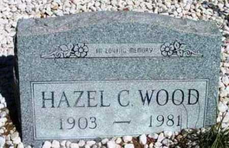 WOOD, HAZEL CLAIR - Yavapai County, Arizona | HAZEL CLAIR WOOD - Arizona Gravestone Photos