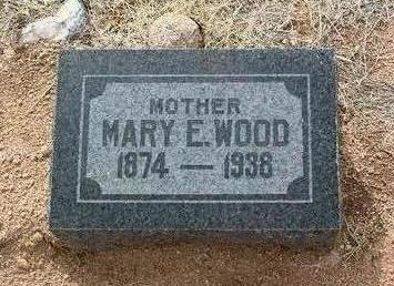 WOOD, MARY ELLEN - Yavapai County, Arizona | MARY ELLEN WOOD - Arizona Gravestone Photos