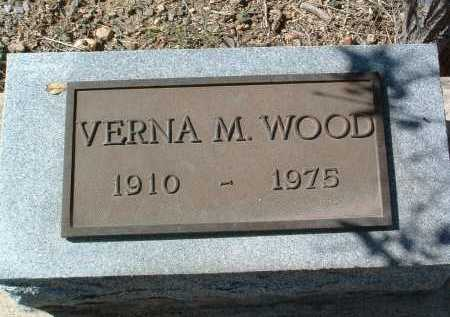 WOOD, VERNA MAY - Yavapai County, Arizona | VERNA MAY WOOD - Arizona Gravestone Photos