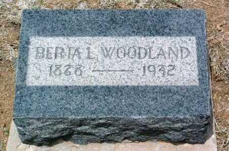 DAY WOODLAND, BERTA L. - Yavapai County, Arizona | BERTA L. DAY WOODLAND - Arizona Gravestone Photos